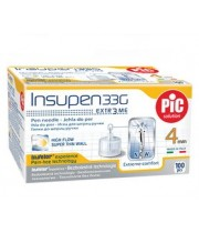 Insupen pen needles 33G (0.23 mm x 4 mm)